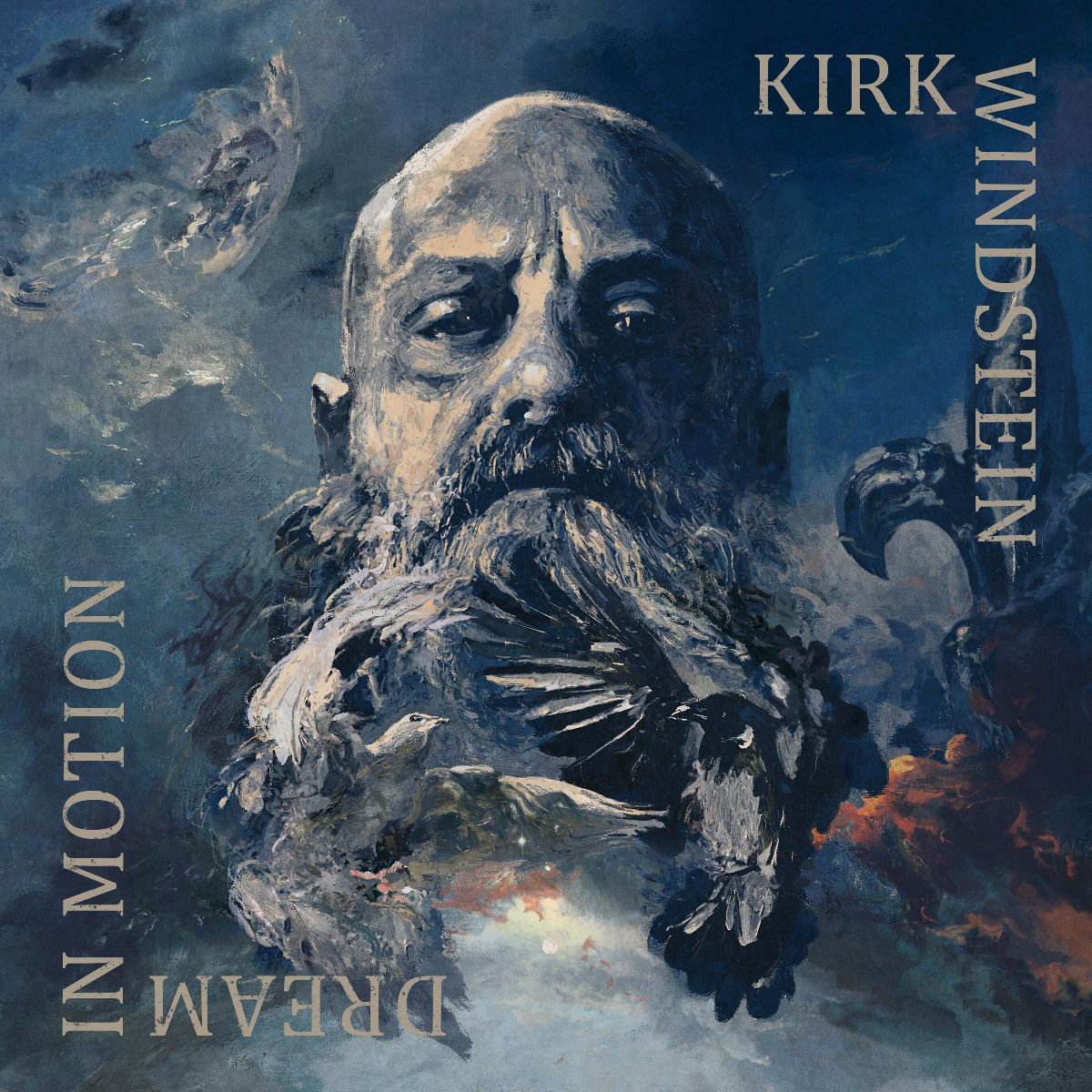 La cover di Dream in Motion, esordio solista di Kirk Windstein