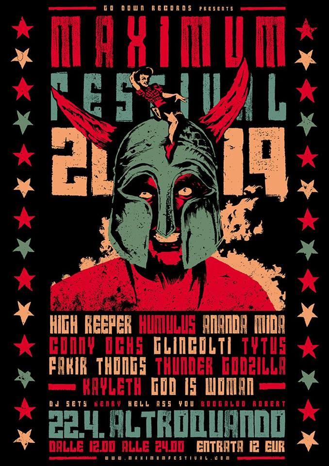 Maximum Festival 2019