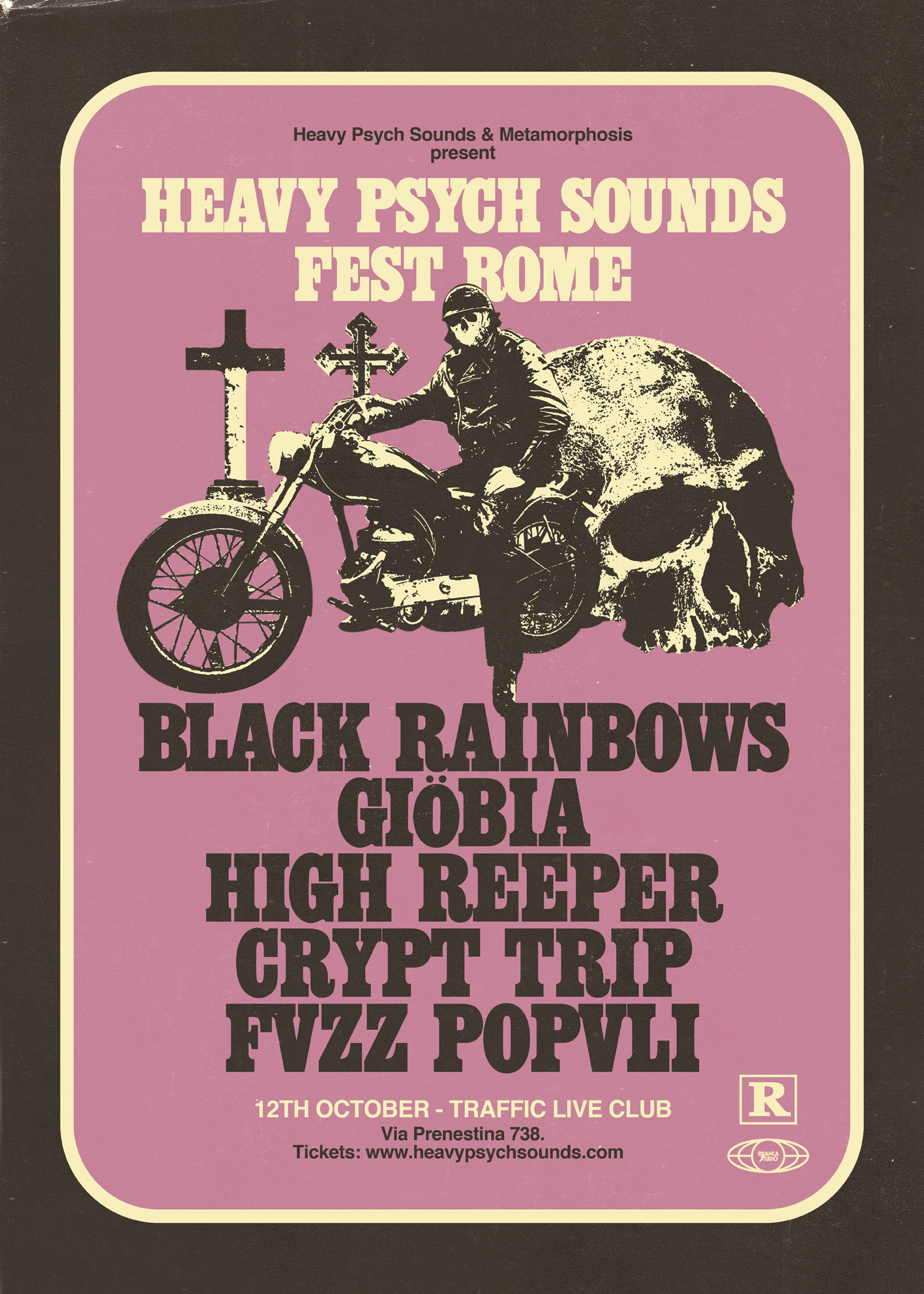 Heavy Psych Sounds Fest Roma